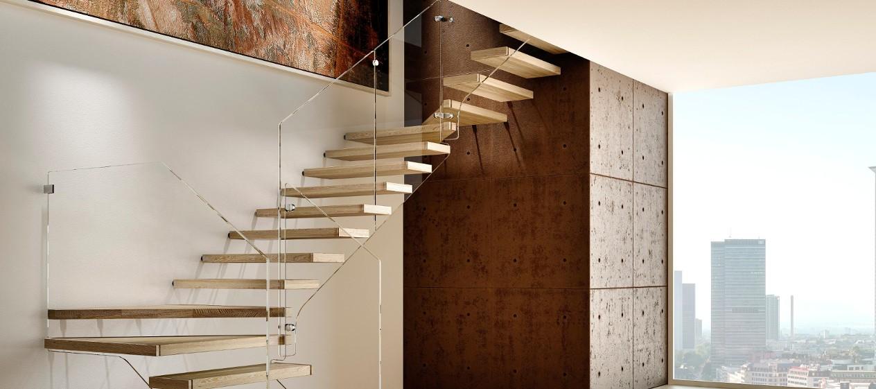 Bacci scale scale a rampa a chiocciola soppalchi in legno rivestimenti porte e serramenti - Scale a rampa ...